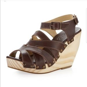 Bed Stu brown leather sandals